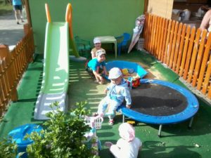 Dětské hřiště na Chatě RoJa
